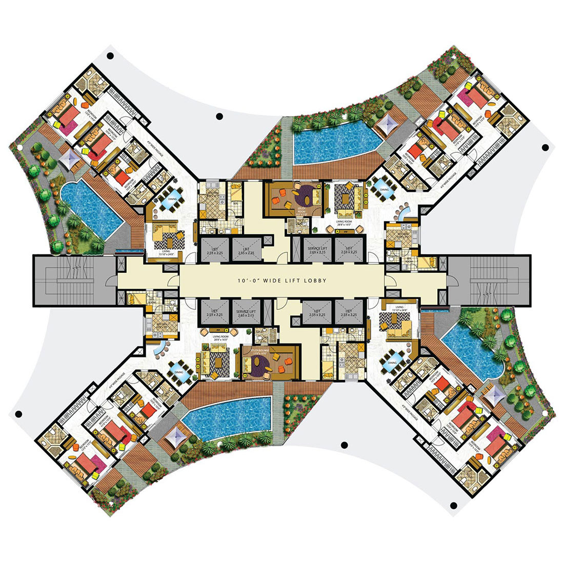 Duplex apartments mumbai buy home lower parel for Apartment hotel plans