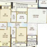 Lashkaria Green heights Floor Plan