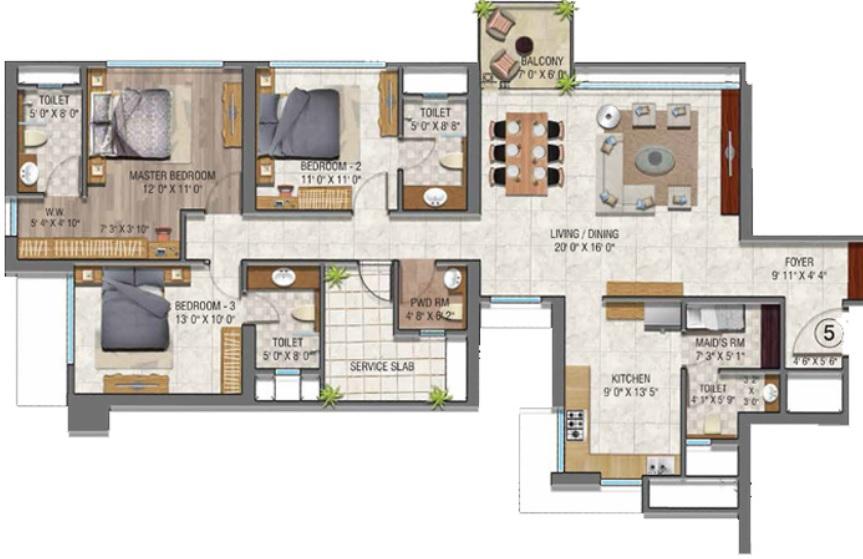 2 Bhk 4 Bhk Sale Malad West Luxury Homes Sale Malad