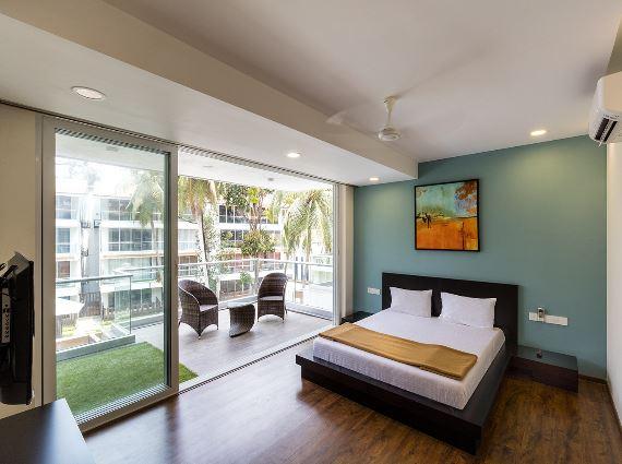 2 BHK Apartments Calangute Beach