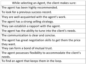 how to select a good real estate agent