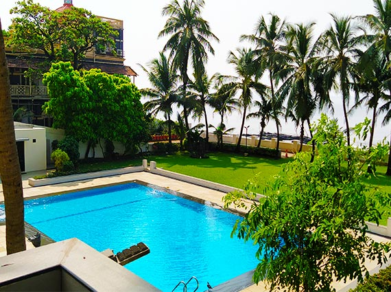 Pool Side Area Samudra Mahal
