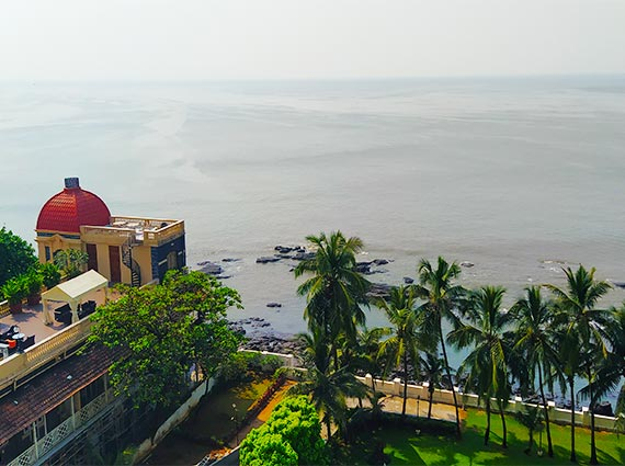 Sea View from Samudra Mahal