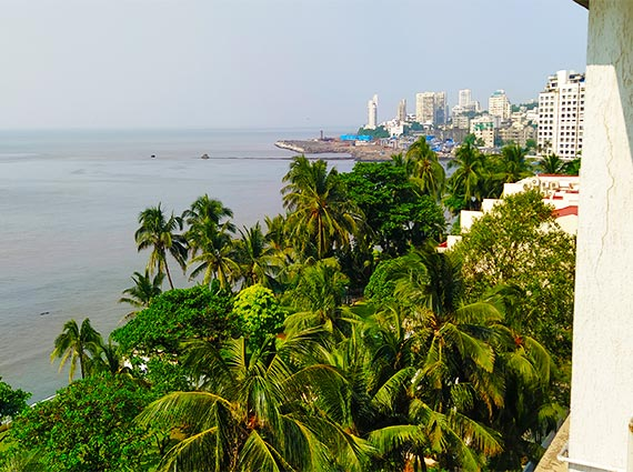 View from Samudra Mahal
