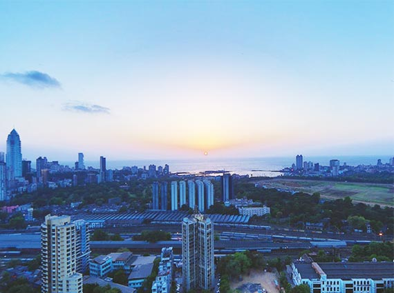 View from Kalpataru Heights