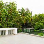 Terrace area of Goden Beach Society