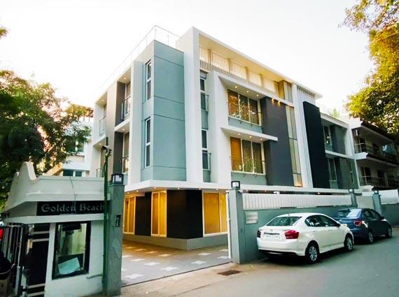 Villa for Sale Golden Beach Society Juhu Beach