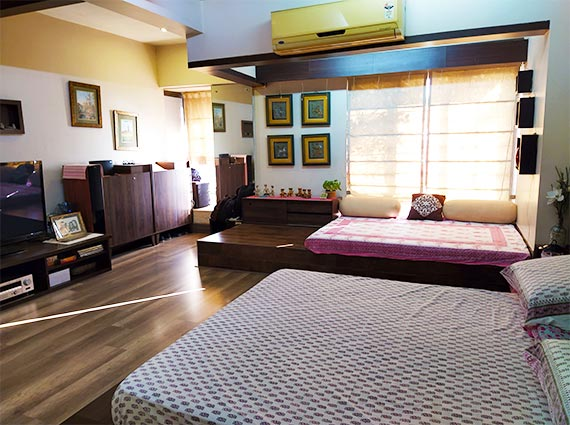 Fully Furnished Flat Sale Shikhar Kunj Malad