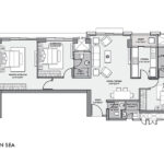 3 BHK Floor Plan Lodha Sea Mont