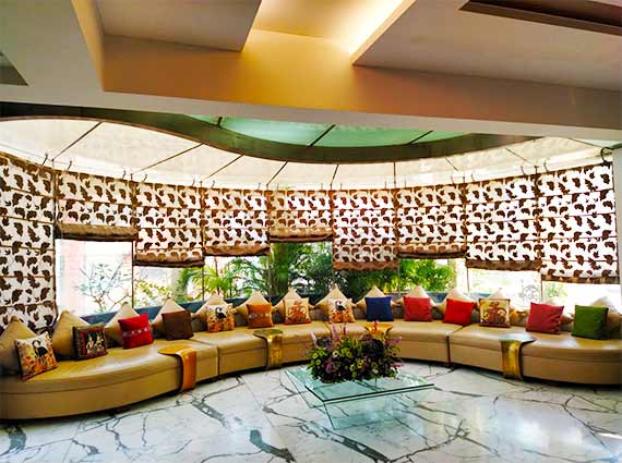 5 BHK Ekta Empress Khar Living Area