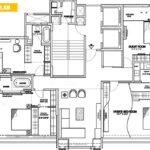 Ekta Empress 10th Floorplan