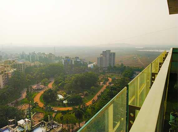 View of Joggers park Lokhandwala
