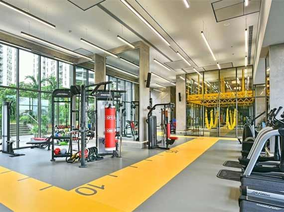 Rustomjee Elements Gym