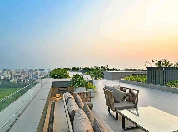 Rustomjee Elements terrace view