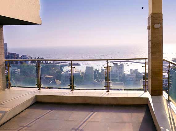 Sea View 3 Bed Terrace Apartments