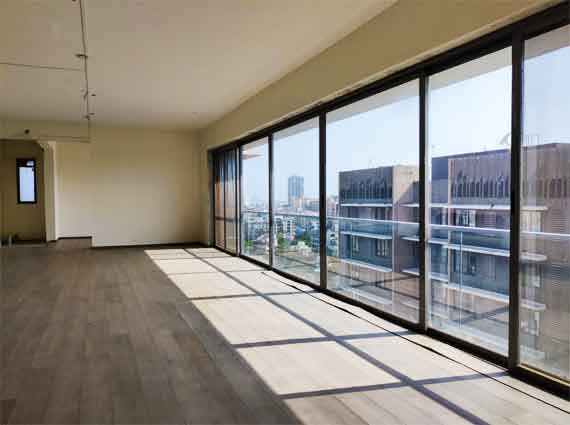 large living room penthouse for sale