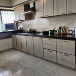 Spacious kitchen in 4 bhk bandra west