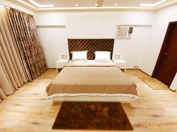 spacious master bedroom flamingo khar