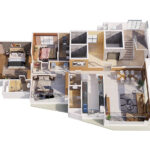 Isometric View Grand Apartments South Bay