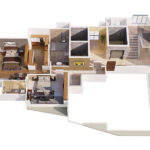 Isometric View Royale Suites South Bay