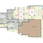 Royal Suites Floor Plan South Bay