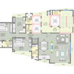 Royal Suites Upper Level Floor Plan South Bay