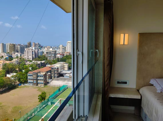 bedroom view bandra chand terraces 3 bhk