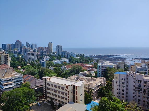 sea facing 3 bhk chand terraces