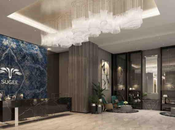 reception area sugee marina bay worli