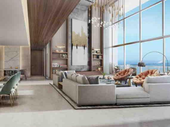 4 BHK apartments marina bay Worli