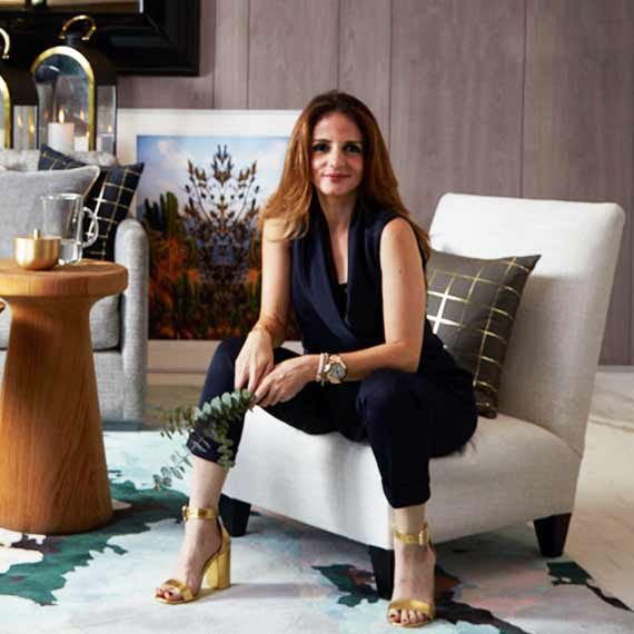 Susanne Khan Interiors Decorator