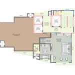 Premiere Suites Upper Level Floorplan South Bay