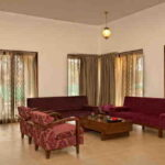 spacious living room 3 bhk
