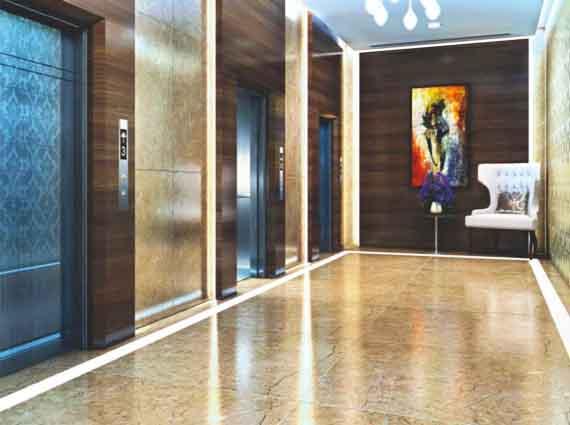 Spacious 4 BHK Private elevators in Raheja Imperia