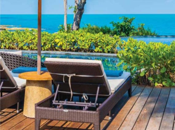 top-of-the-line amenities vacation villa north goa