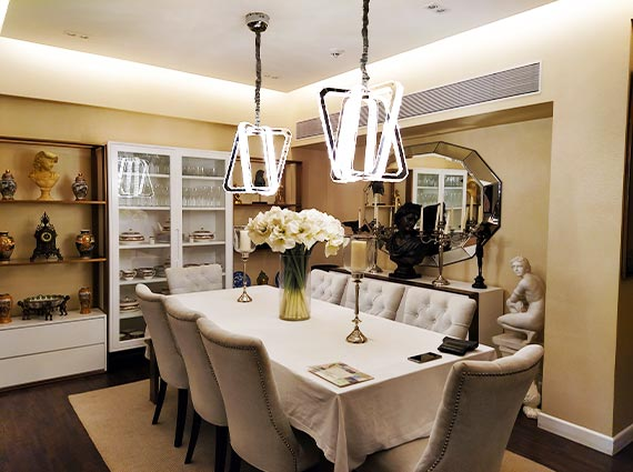 luxury 3.5 bhk home on 7th floor