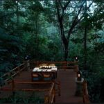 outdoor dining in vacation home kerala