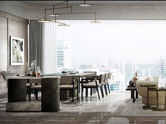 luxurious interior rustomjee crown apartment available