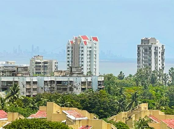 Magnificent View from Ashoka Towers Apartment