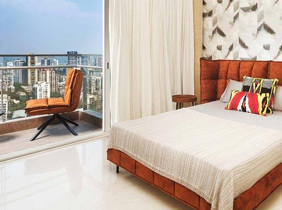 monte south mumbai luxurious bedroom