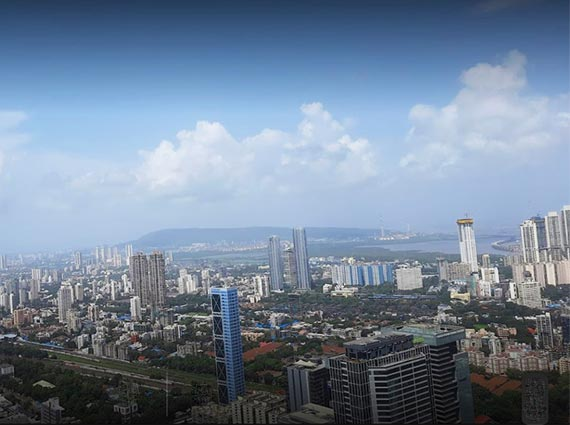 mumbai horizon view rustomjee crown apartment