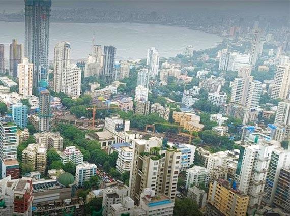 mumbai skyline prabhadevi mumbai