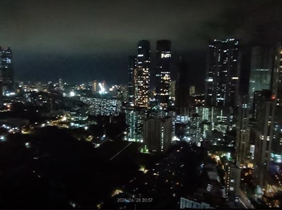 prabhadevi night life view mumbai