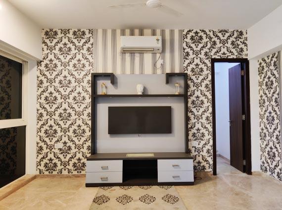 grand flat for sale runwal elegante