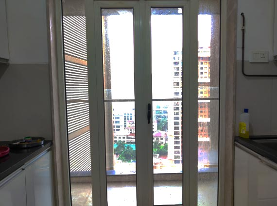 kitchen view from 4.5 bhk flat available