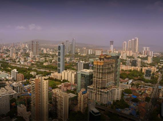 rustomjee crown mumbai view