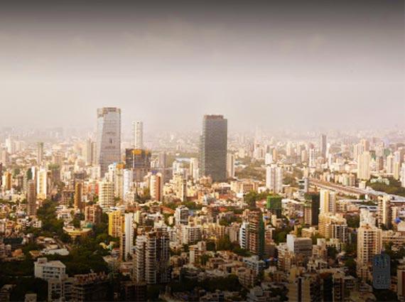 rustomjee crown tower 33rd floor view mumbai