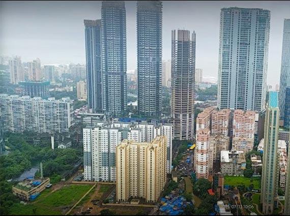 under construction rustomjee crown towers mumbai