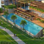 luxurious swimming pool apartments in khar santacruz