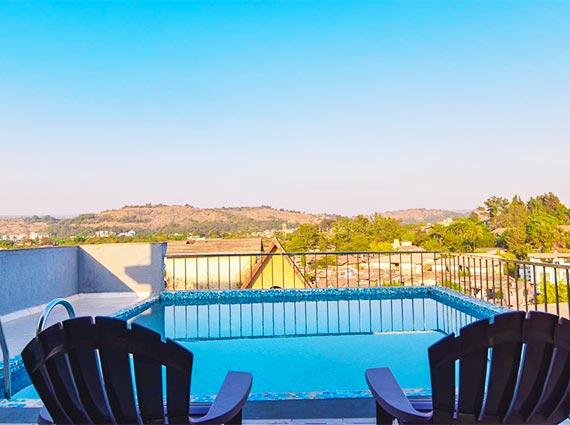 grand terrace pool in lonavala villa for sale